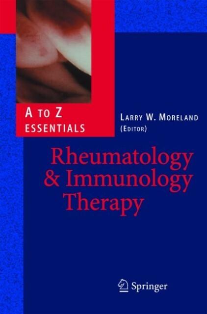 Rheumatology and Immunology Therapy als Buch (gebunden)