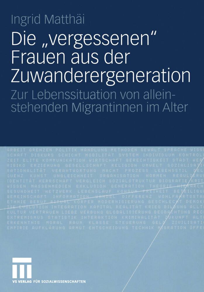 """Die """"vergessenen"""" Frauen aus der Zuwanderergeneration als Buch (kartoniert)"""