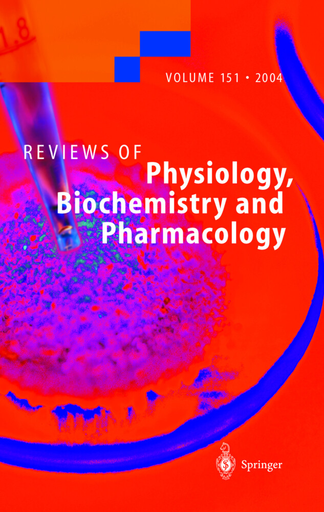 Reviews of Physiology, Biochemistry, and Pharmacology 151 als Buch (gebunden)