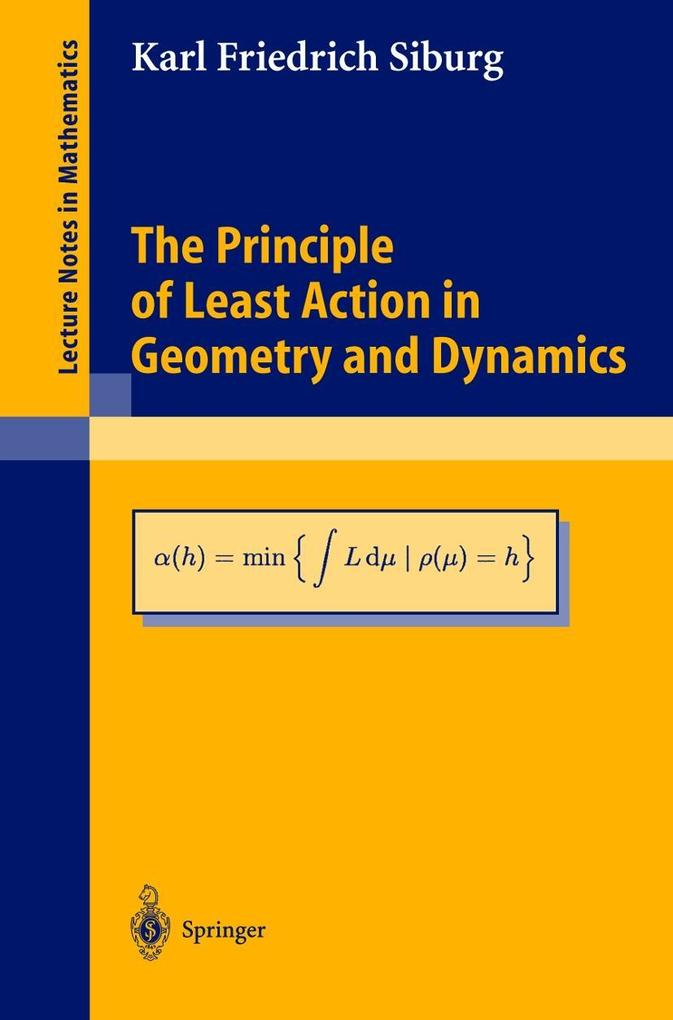 The Principle of Least Action in Geometry and Dynamics als Buch (kartoniert)