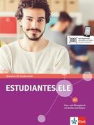 Estudiantes.ELE A2. Kurs- und Übungsbuch mit Audios und Videos