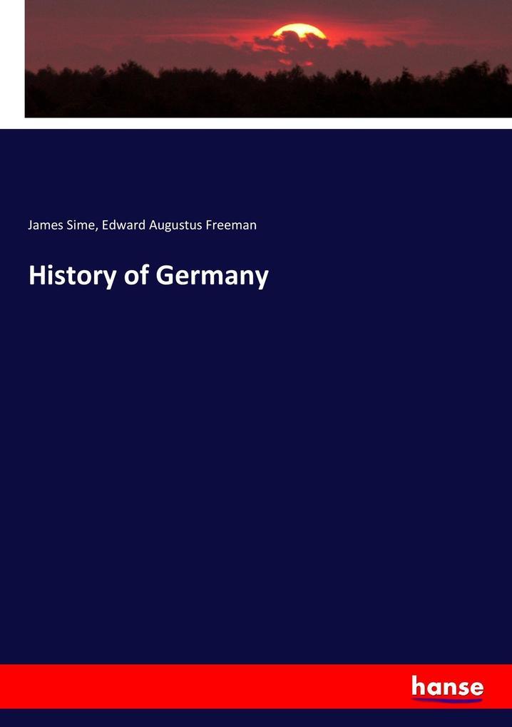 History of Germany als Buch (kartoniert)