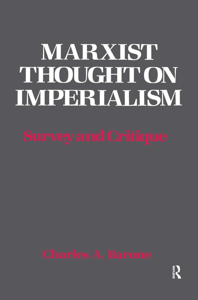 Marxist Thought on Imperialism als eBook epub