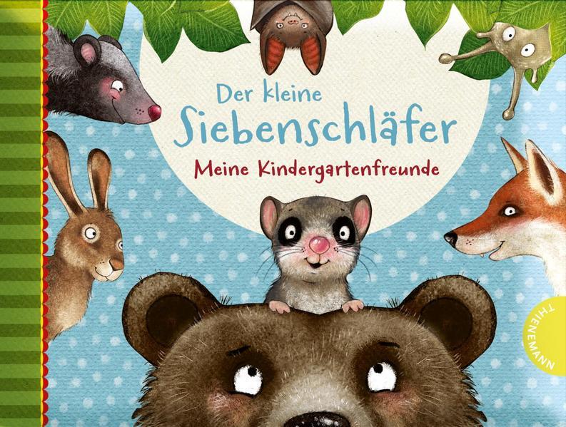 Der kleine Siebenschläfer - Meine Kindergartenfreunde als Buch (gebunden)