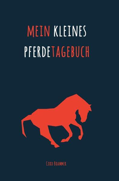 Mein kleines Pferdetagebuch als Buch (kartoniert)