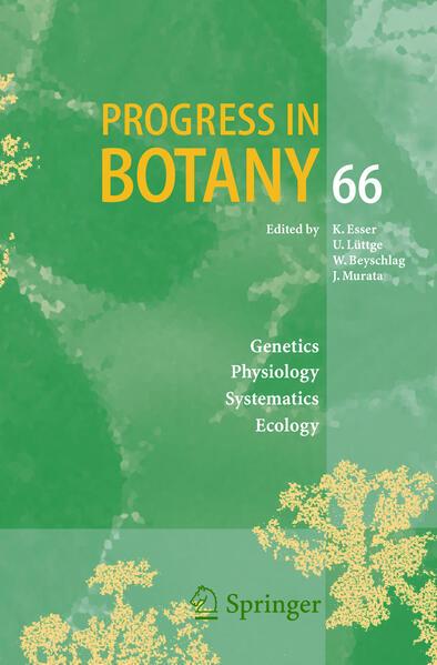 Progress in Botany 66 als Buch (gebunden)