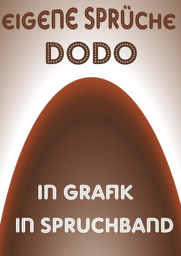 Eigene-Sprüche-dodo als Buch (kartoniert)