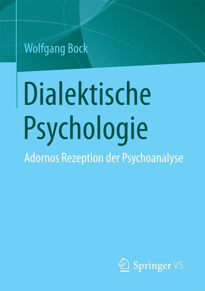 Dialektische Psychologie als eBook pdf