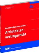 BKI Kommentar zum neuen Architektenvertragsrecht