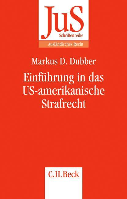 Einführung in das US-amerikanische Strafrecht als Buch (kartoniert)
