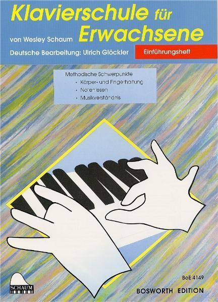 Klavierschule für Erwachsene als Buch (geheftet)