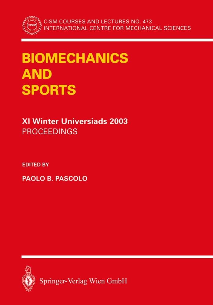 Biomechanics and Sports als Buch (kartoniert)