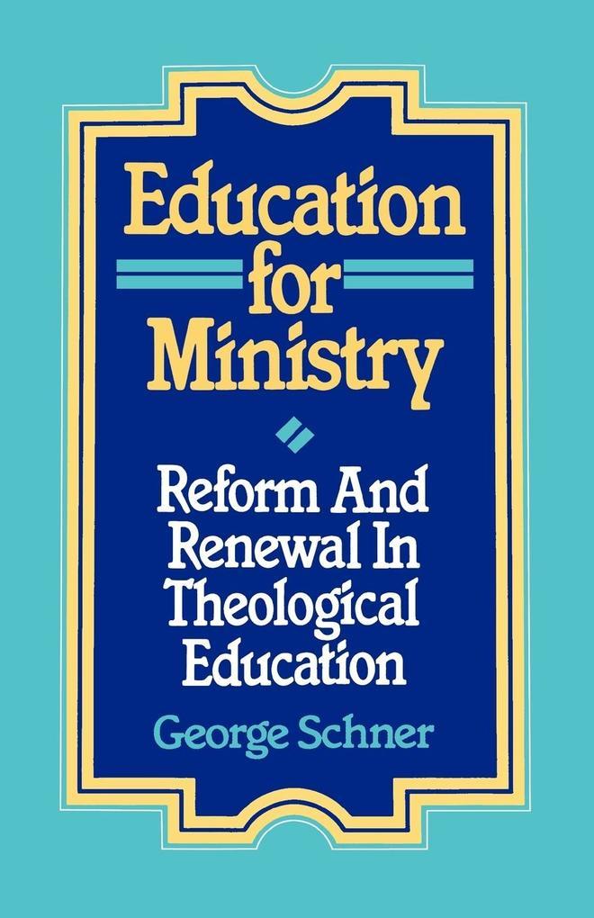 Education for Ministry als Taschenbuch