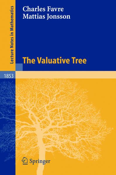 The Valuative Tree als Buch (kartoniert)