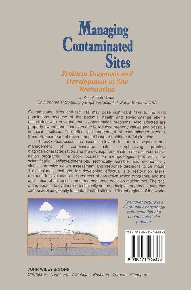 Managing Contaminated Sites als Buch (gebunden)