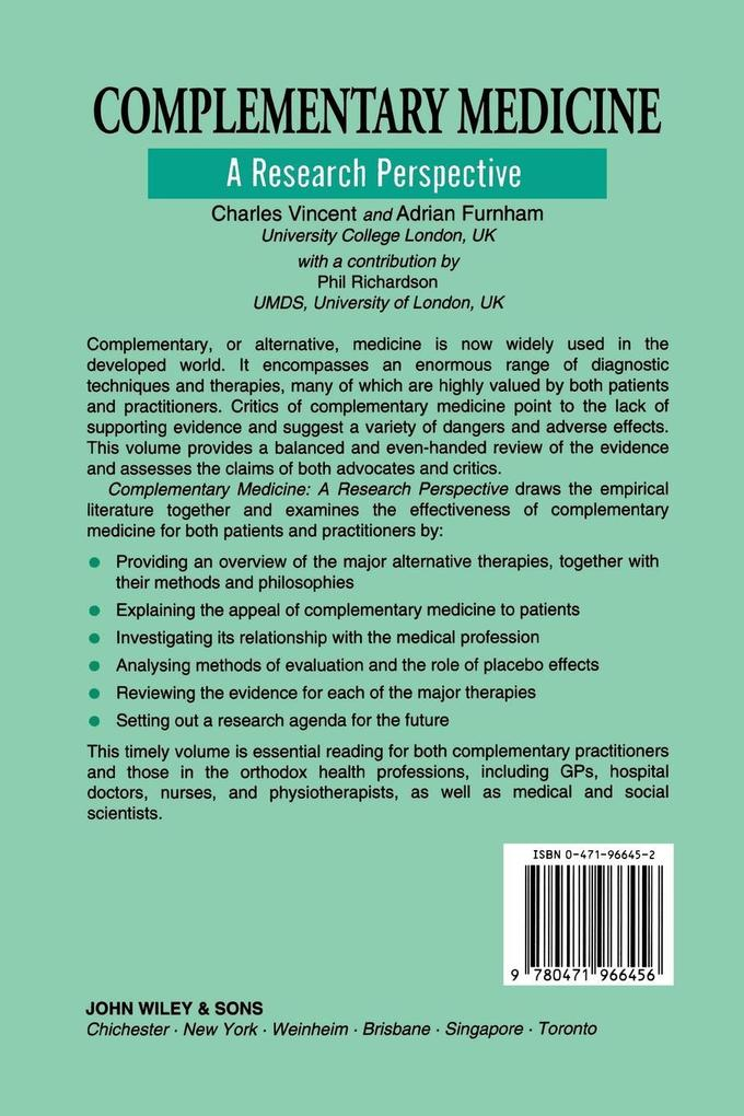 Complementary Medicine als Buch (kartoniert)