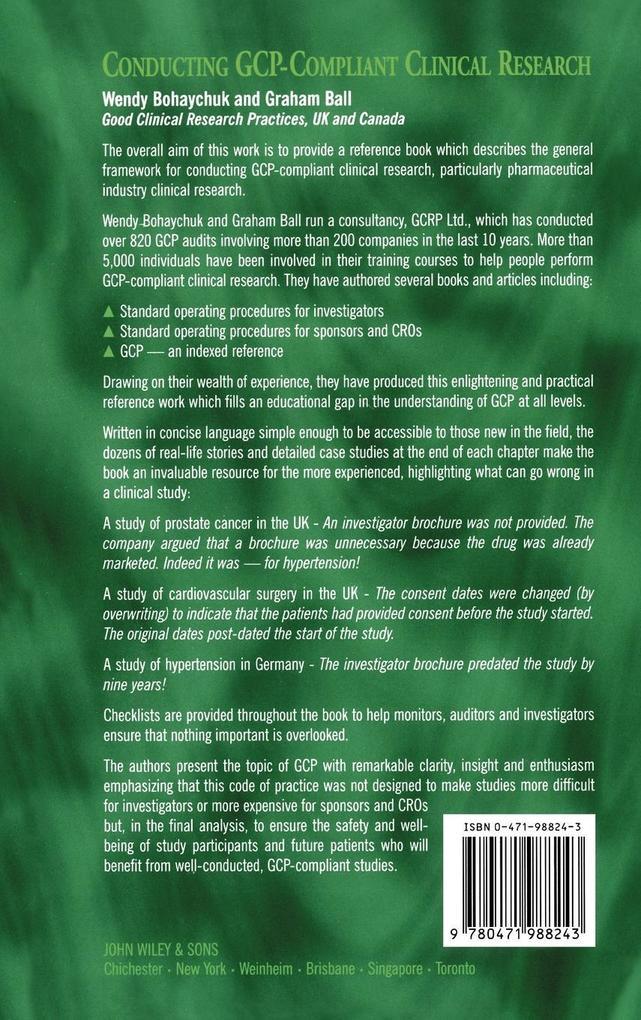 Conducting GCP-Compliant Clinical Res. als Buch (gebunden)