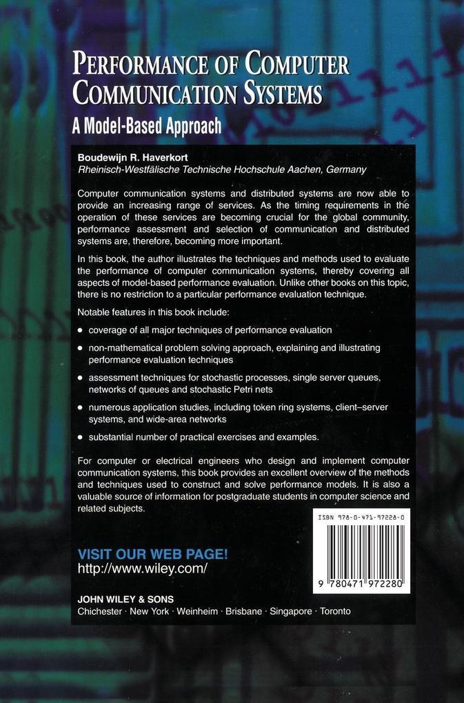 Performance Computer Communication Systm als Buch (gebunden)