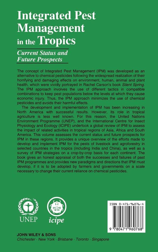 Integrated Pest Management in Tropics als Buch (gebunden)
