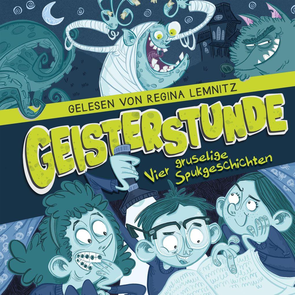 Geisterstunde: Vier gruselige Spukgeschichten als Hörbuch Download