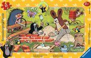 Der kleine Maulwurf und seine Freunde. Rahmenpuzzle 15 Teile
