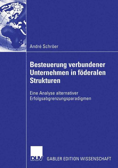Besteuerung verbundener Unternehmen in föderalen Strukturen als Buch (kartoniert)