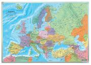 Europa politisch, Wandkarte 1:6 Mio., Markiertafel