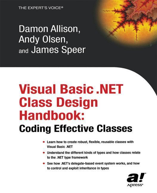 Visual Basic .NET Class Design Handbook als Buch (kartoniert)