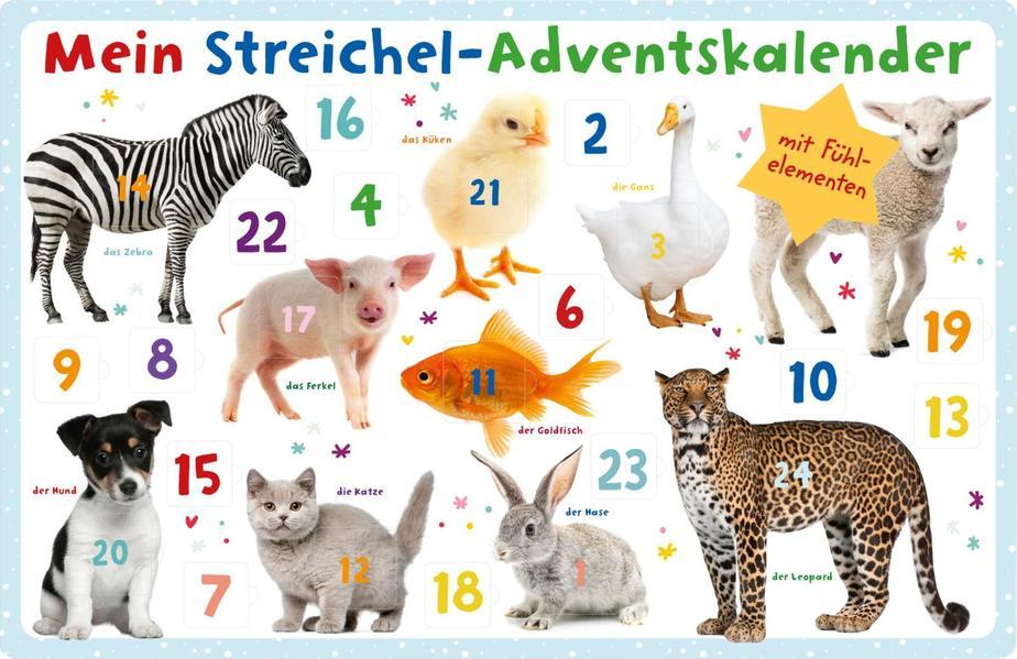 Mein Streichel-Adventskalender als Kalender