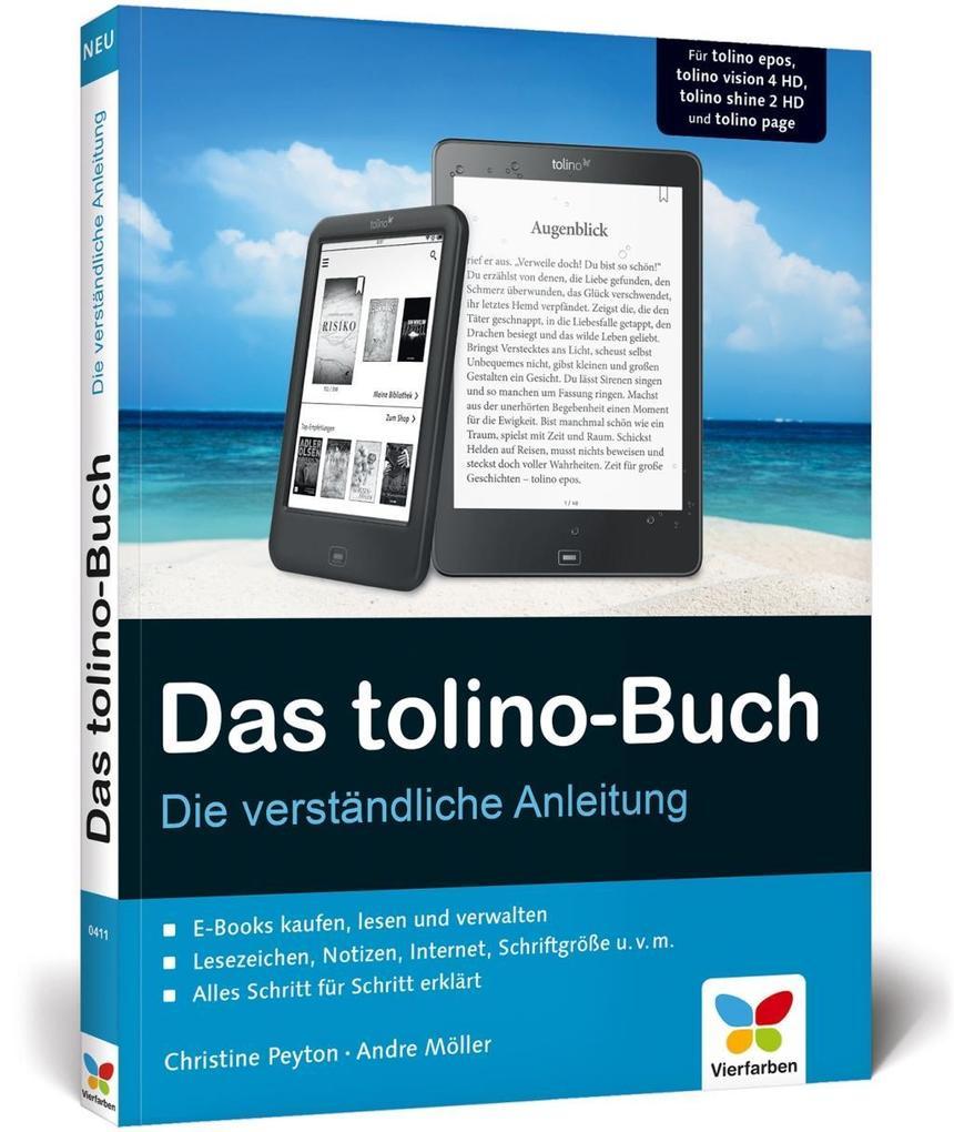 Das tolino-Buch als Buch