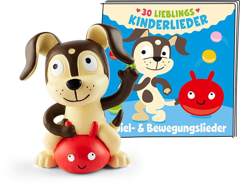 Tonie - 30 Lieblings-Kinderlieder - Spiel- & Bewegungslieder als Spielware