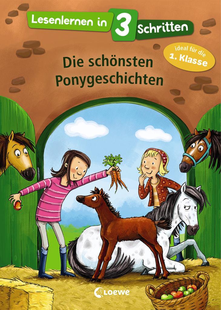 Lesenlernen in 3 Schritten - Die schönsten Ponygeschichten als Buch