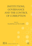 Institutions, Governance and the Control of Corruption