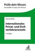 Internationales Privat- und Zivilverfahrensrecht