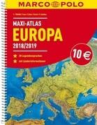 MARCO POLO Maxi-Atlas Europa 2018/2019