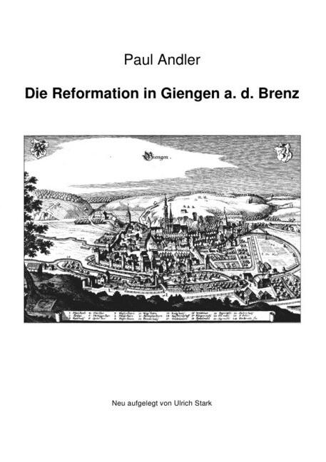 Die Reformation in Giengen a. d. Brenz als Buch (kartoniert)