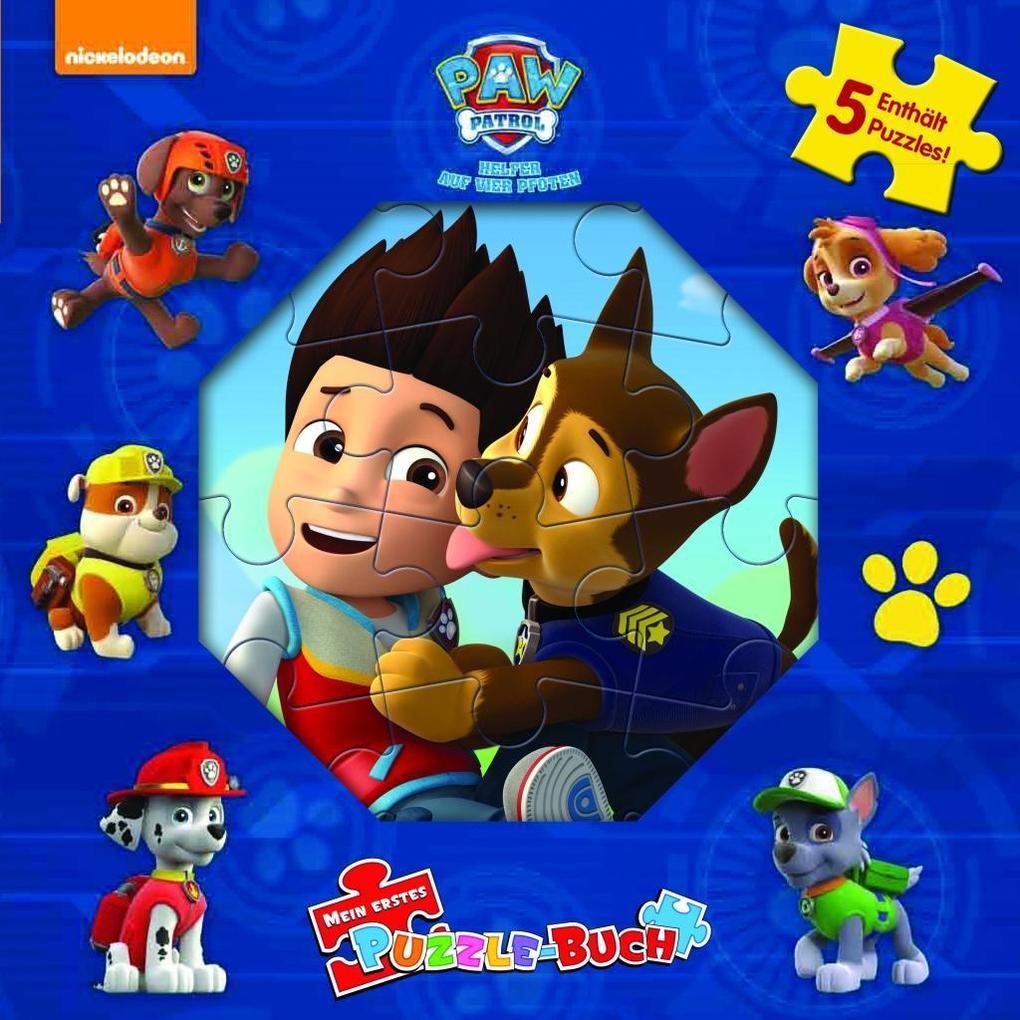 puzzlebuch paw patrol jungen buch