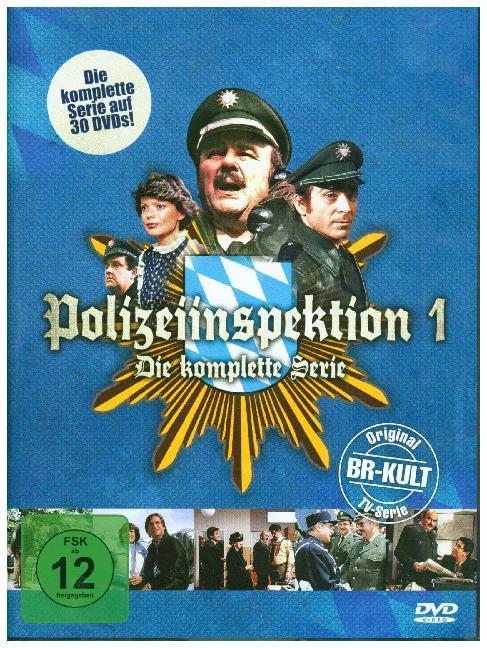 Polizeiinspektion 1 - Die komplette Serie, 30 DVD als DVD