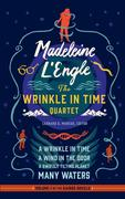 Madeleine l'Engle: The Wrinkle in Time Quartet (Loa #309): A Wrinkle in Time / A Wind in the Door / A Swiftly Tilting Planet / Many Waters