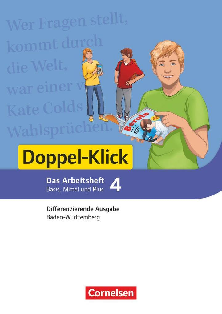 Doppel-Klick Band 4: 8. Schuljahr - Differenzierende Ausgabe Baden-Württemberg - Arbeitsheft mit Lösungen als Buch (kartoniert)