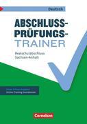 Abschlussprüfungstrainer Deutsch 10. Schuljahr - Sachsen-Anhalt - Mittlerer Schulabschluss