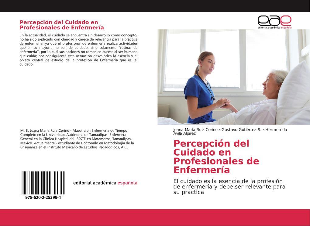 Percepción del Cuidado en Profesionales de Enfermería als Taschenbuch