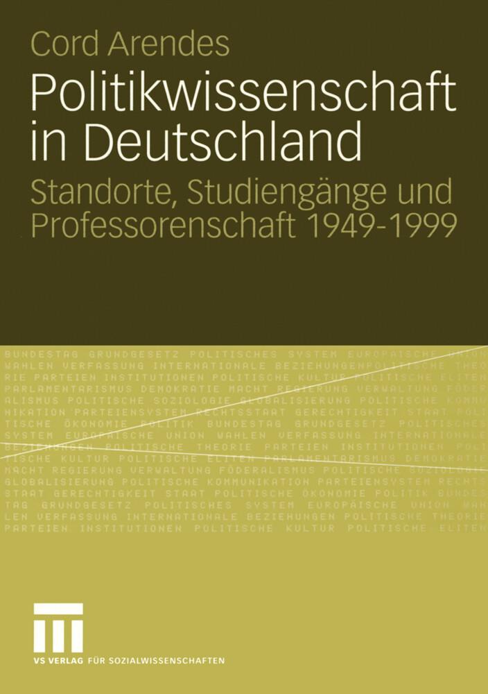 Politikwissenschaft in Deutschland als Buch (kartoniert)
