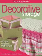 No Sew, Low Sew Decorative Storage