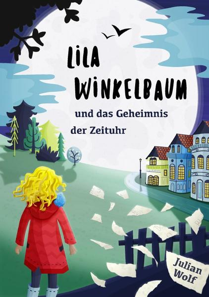 Lila Winkelbaum und das Geheimnis der Zeituhr als Buch (kartoniert)