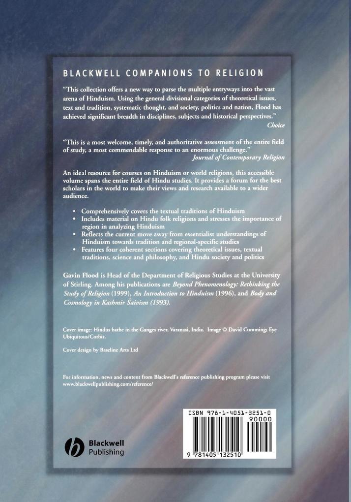 Blackwell Companion to Hinduism als Taschenbuch