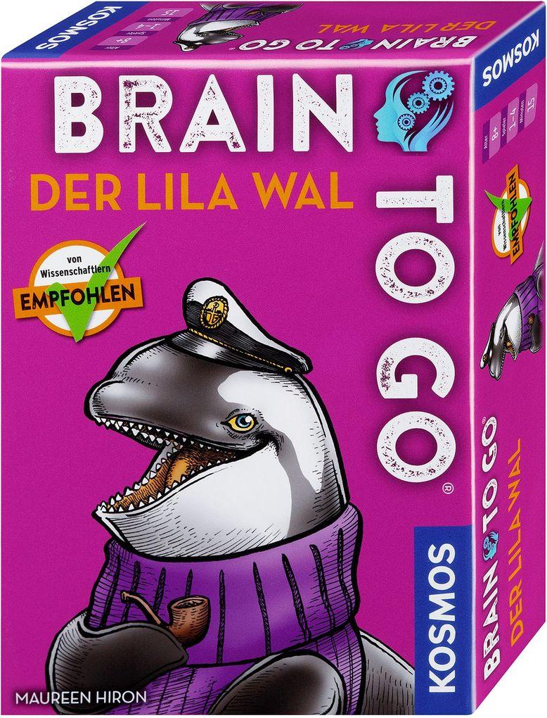 BRAIN TO GO® - Der lila Wal als Spielware