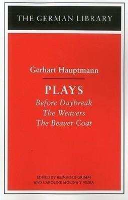 Hauptmann Plays als Buch (kartoniert)
