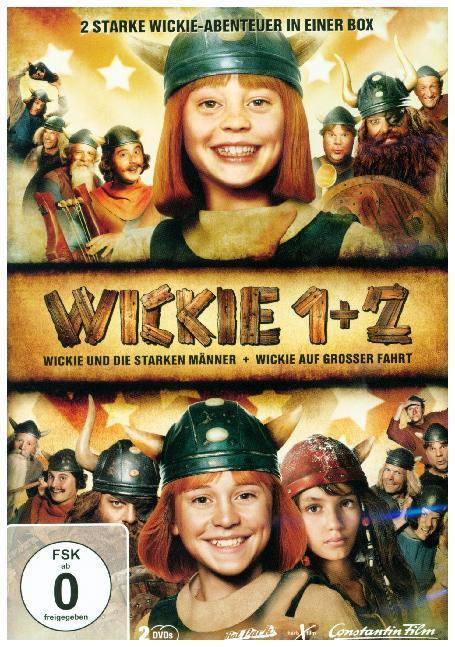 Wickie und die starken Männer & Wickie auf grosser Fahrt als DVD