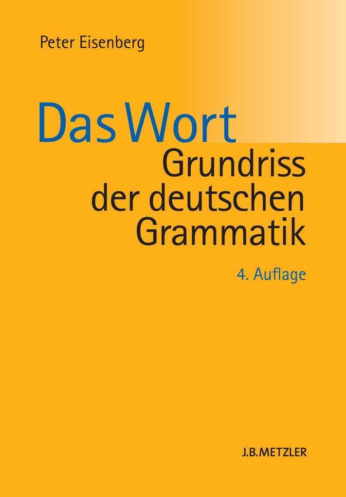 Grundriss der deutschen Grammatik als eBook pdf